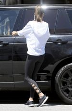 ALESSANDRA AMBROSIO Out and About in Los Angeles 06/12/2017\