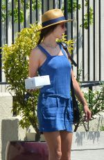 ALESSANDRA AMBROSIO Out for Breakfast in Santa Monica 06/17/2017