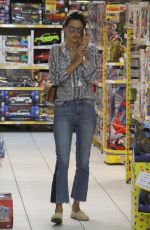 ALESSANDRA AMBROSIO Out Shopping in Florianopolis 06/23/2017