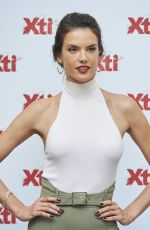 ALESSANDRA AMBROSIO Presents XTI 2017 Spring/Summer Collection in Madrid 06/02/2017