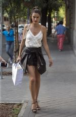 ALESSANDRA AMBRSIO Arrives at Her Hotel in  Madrid 06/02/2017
