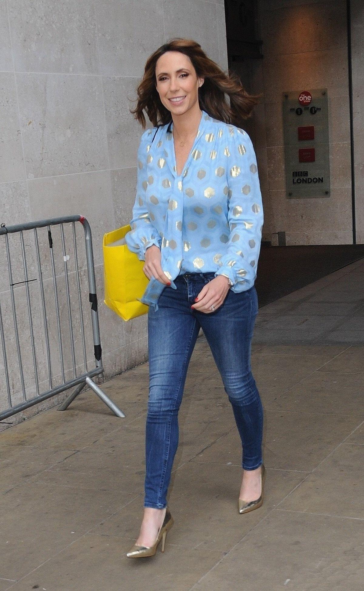 ALEX JONES Leaves BBC Studios in London 06/26/2017