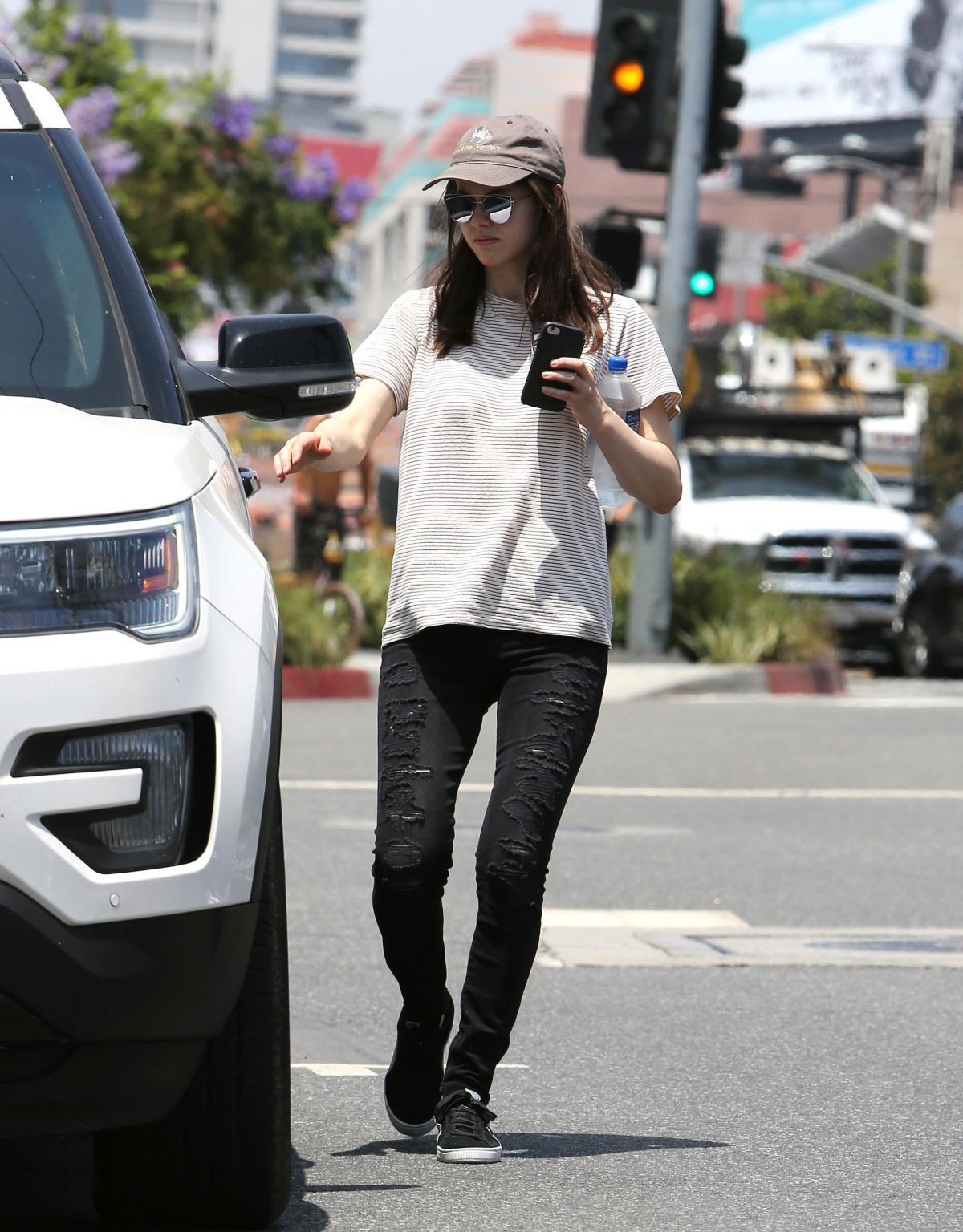 ALEXANDRA DADDARIO Out for Coffee in Los Angeles 06/23/2017