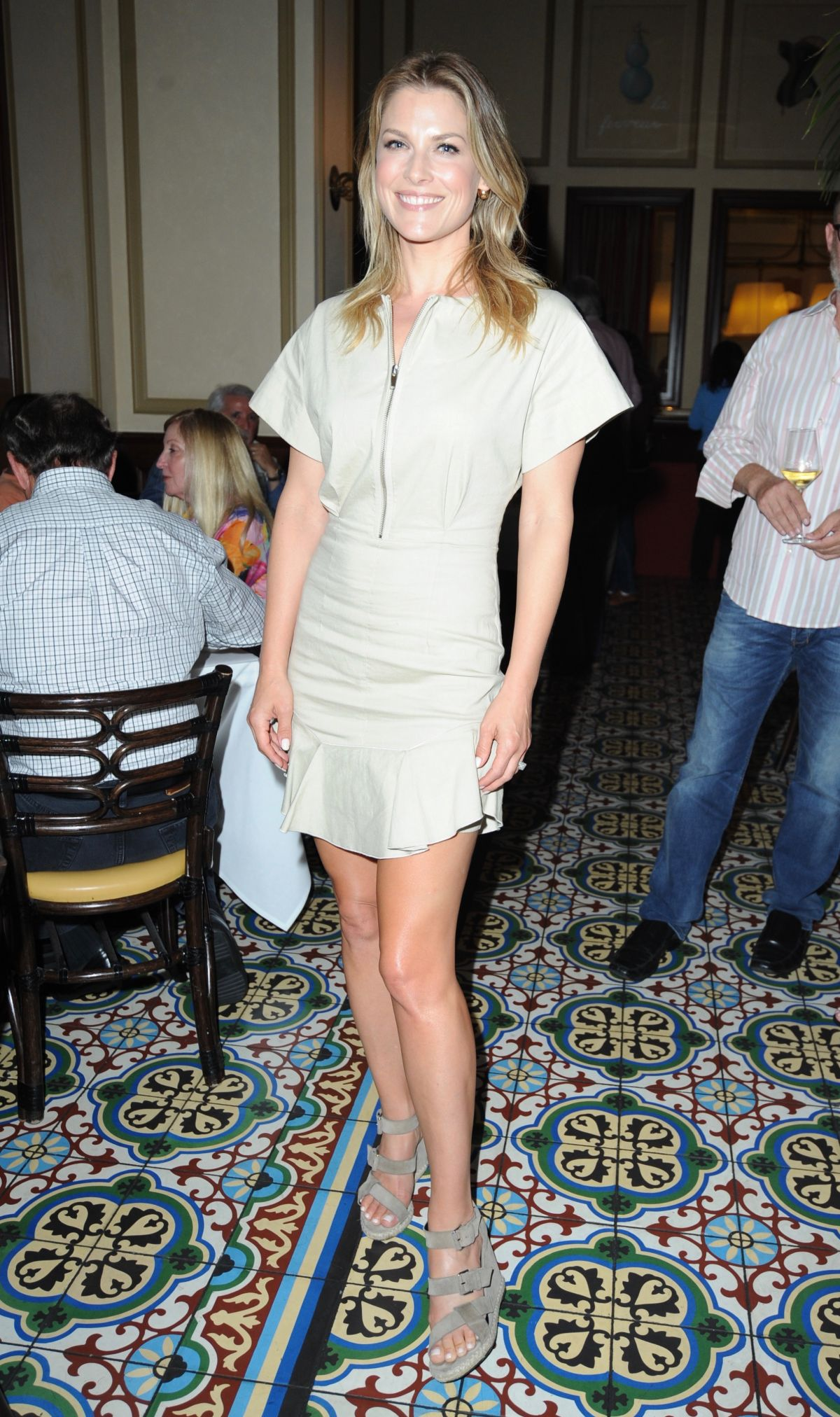 ALI LARTER at LA Food Bowl