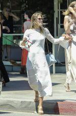 ALI LARTER Out for Lunch in Santa Monica 06/25/2017