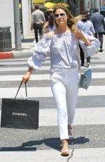 ALI LARTER Out Shopping in Beverly Hills 06/02/2017