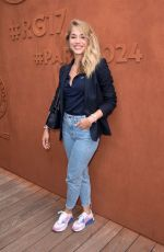 ALICE ISAAZ at 2017 French Tennis Open at Roland Garros in Paris 06/02/2017