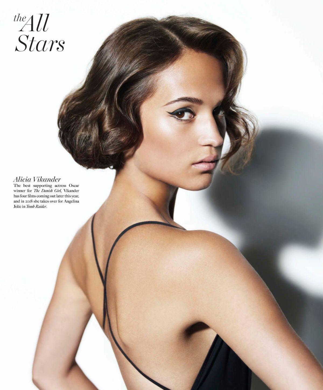 ALICIA VIKANDER in Maxim Magazine, June/July 2017