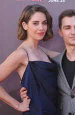 ALISON BRIE at GLOW TV Show Premiere in Los Angeles 06/21/2017