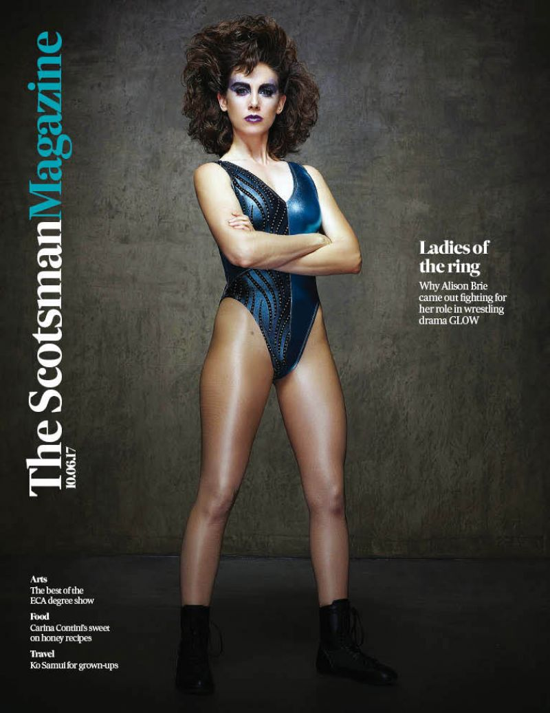 ALISON BRIE for Tthe Scotsman Magazine, June 2017