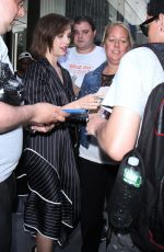 ALISON BRIE Leaves Bowery Hotel in New York 06/20/2017