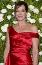 ALLISON JANNEY at Tony Awards 2017 in New York 06/11/2017