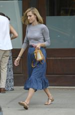 ALLISON WILLIAMS Leaves Her Hotel in New York 05/31/2017