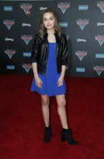 ALYSSA JIRRELS at Cars 3 Premiere in Anaheim 06/10/2017