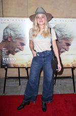 AMANDA AJ MICHALKA at The Hero Premiere in Hollywood 06/05/2017