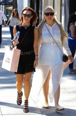 AMANDA BYNES Out Shopping in Beverly Hills 06/22/2017\