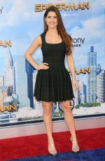 AMANDA CERNY at Spiderman: Homecoming Premiere in Los Angeles 06/28/2017