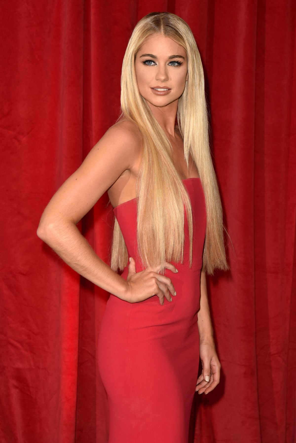 AMANDA CLAPHAM at British Soap Awards in Manchester 06/03/2017