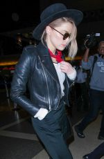 AMBER HEARD at LAX Airport in Los Angeles 06/28/2017