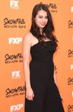 AMBER MIDTHUNDER at Snowfall Premiere in Los Angeles 06/26/2017