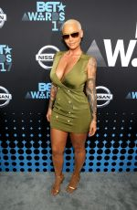AMBER ROSE at BET Awards 2017 in Los Angeles 06/25/2017