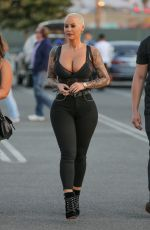 AMBER ROSE Out and About in Los Angeles 06/10/2017