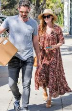 AMY ADAMS Out Shopping in West Hollywood 06/20/2017