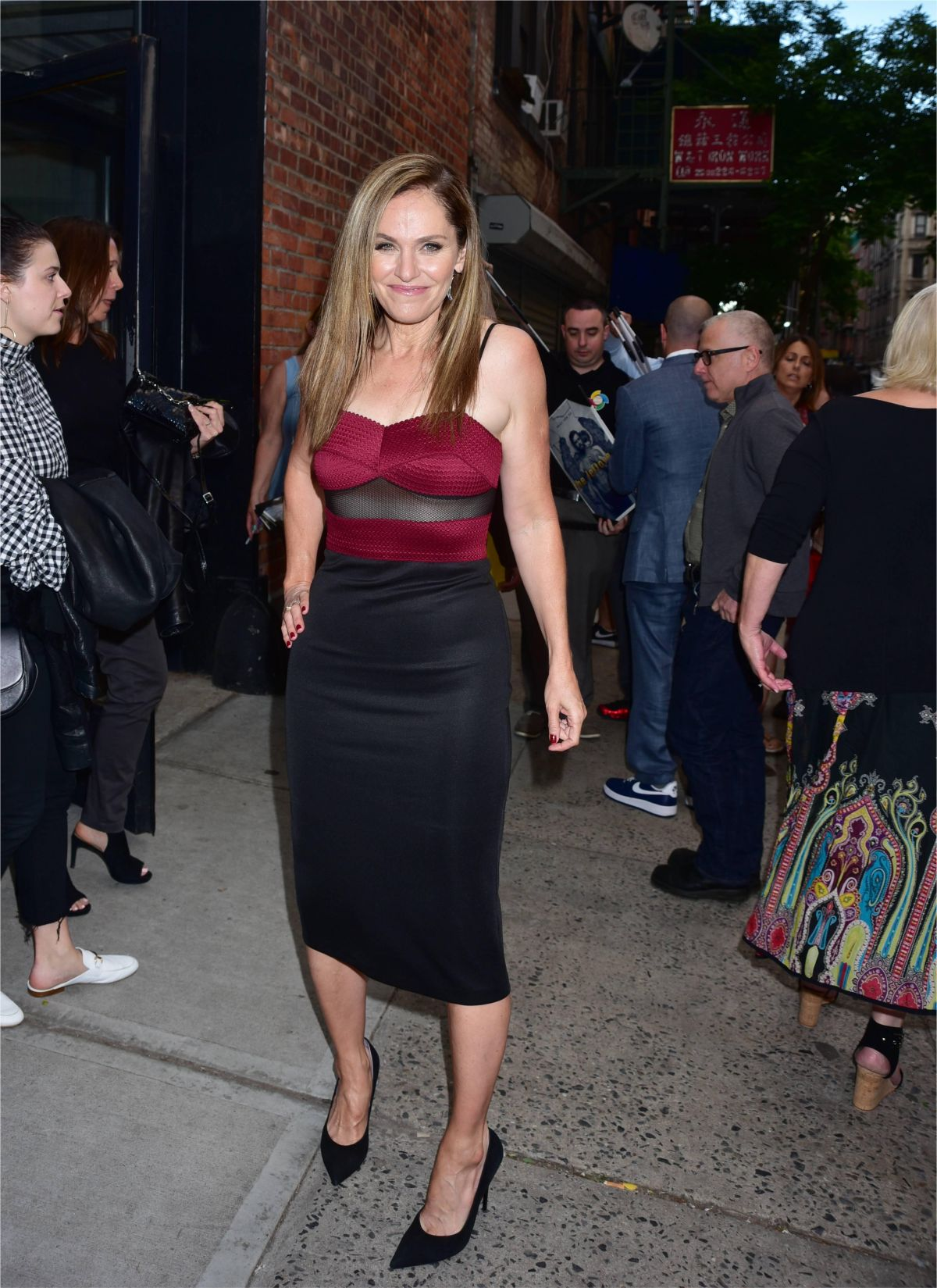 AMY BRENNEMAN at The Leftover Screening in New York 01/06/2017