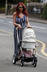 AMY CHILDS Out for Lunch in Essex 06/15/2017