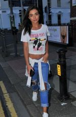 AMY JACKSON at Aesthetically You Launch in Liverpool 06/13/2017