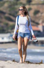 ANA BRAGA in Cut Off on the Beach in Malibu 06/20/2017