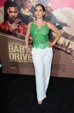 ANA DE LA REGUERA at Baby Driver Premiere in Los Angeles 06/14/2017