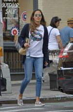 ANA IVANOVIC in Denim Out Shopping in New York  06/02/2017