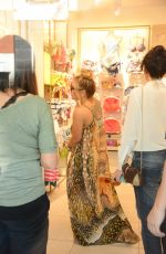 ANASTACIA Out Shopping in Milan 06/17/2017