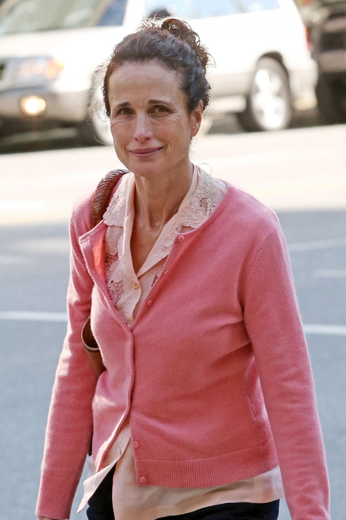 ANDIE MACDOWELL Out and About in Vancouver 06/11/2017