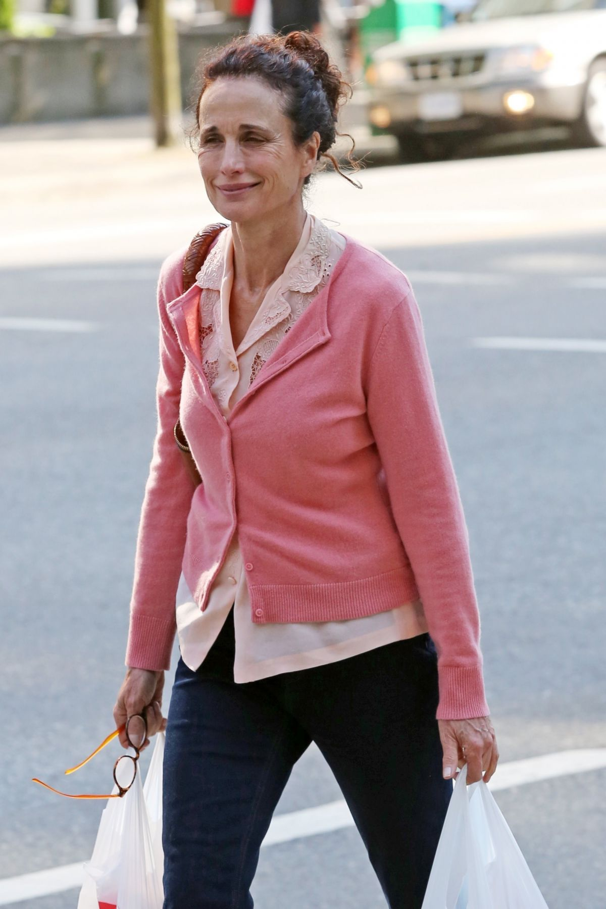 ANDIE MACDOWELL Out and About in Vancouver 06/11/2017 | Celebs by ...