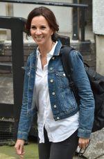 ANDREA MCLEAN Leaves ITV Studios in London 06/01/2017