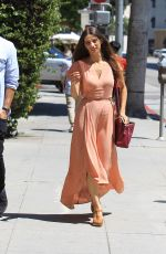 ANGELA SARAFYAN Out for Lunch in West Hollywood 06/17/2017