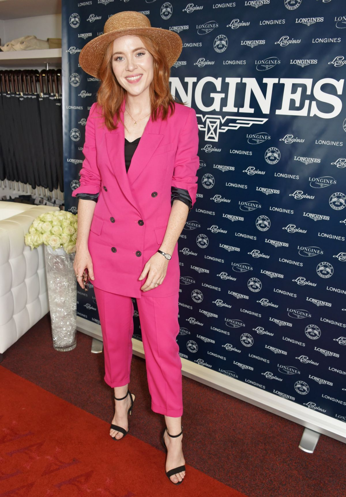 ANGELA SCANLON at Royal Ascot Races in Berkshire 06/22/2017