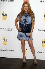 ANGELICA BRIDGES at A Crooked Somebody Premiere at LA Film Festival 06/21/2017
