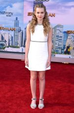 ANGOURIE RICE at Spiderman: Homecoming Premiere in Los Angeles 06/28/2017