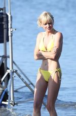 ANNA FARIS in Bikini on the Set of Overboard Remake in Vancouver 06/28/2017