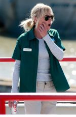 ANNA FARIS on the Set of Overboard in Richmond 06/24/2017