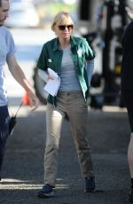 ANNA FARIS on the Set of Overboard in Vancouver 06/10/2017