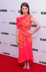 ANNA KENDRICK at Glamour Women of the Year Awards in London 06/06/2017