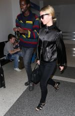 ANNABELLE WALLIS at Los Angeles International Airport 06/08/2017
