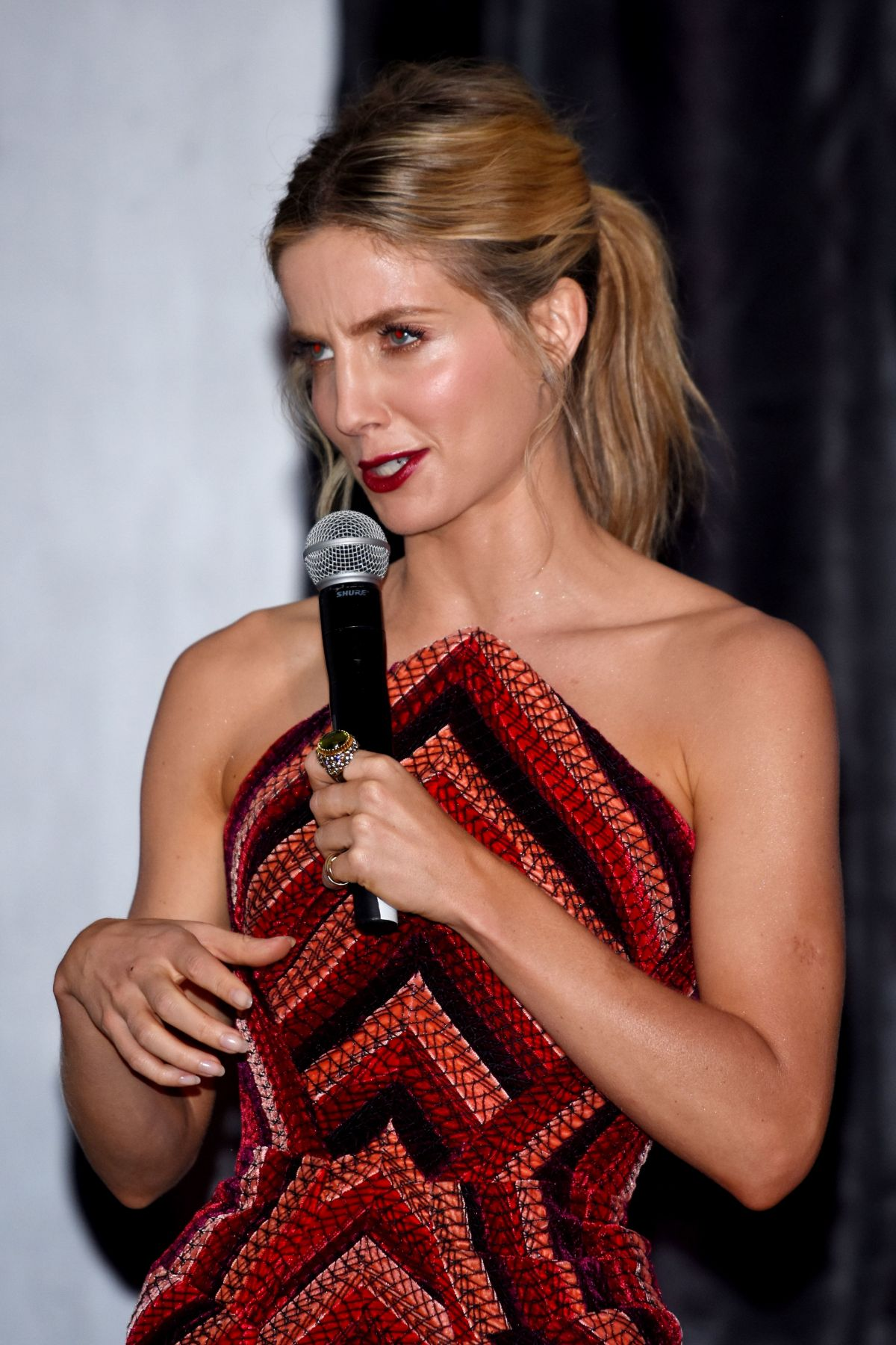 ANNABELLE WALLIS at The Mummy Premiere in Mexico City 06/05/2017