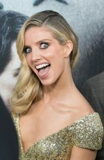 ANNABELLE WALLIS at The Mummy Premiere in New York 06/06/2017
