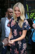 ANNABELLE WALLIS Leaves AOL Build Studios in London 06/01/2017