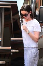 ANNE HATHAWAY Out and About in New York 06/13/2017
